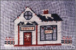 Christmas Village Frame & Gift Shop