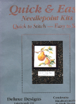 Golden Pears Needlepoint Kit