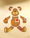 Teddy Bear Toy - 16 ct