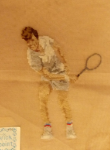 Tennis Player - Male - Pre-Stitched