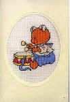 Happy Friends – Bear with Drums Card Kit