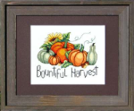 Bountiful Harvest Cross Stitch