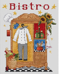 The Chefs Wardrobe Cross Stitch