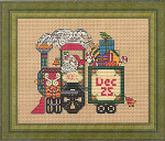 Christmas Train Cross Stitch