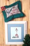 Holiday Lights Cross Stitch