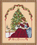 Merry Little Christmas Cross Stitch Pattern