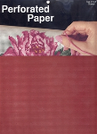 Perforated Paper - Antique Red