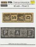 Read Peace Blackwork Bookmark Patterns