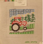 Tractor Needlepoint - 13ct