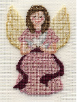 FREE Angel - Victorian Angel on SIlk Pattern