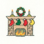 Christmas Stockings - Mini Cross Stitch Kit