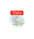 Mitten 02 – Two Turtle Doves 18 ct