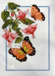 Butterflies Cross Stitch Kit