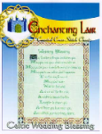 Celtic Wedding Blessing Cross Stitch