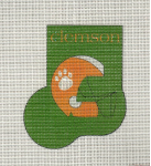 Clemson Mini Stocking