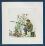 Fishing Cross Stitch Kit