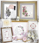 I Thee Wed Cross Stitch Booklet