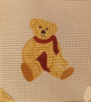 USC Rah Bear Needlepoint - 14 ct