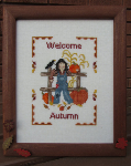 Welcome Autumn by Lisa