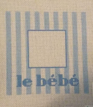 LeBebe Frame Blue 14 ct