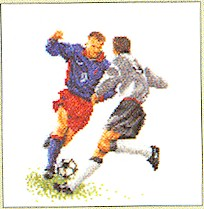 Soccer Cross Stitch Kit