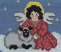 FREE Angel - Angel and the Lamb Pattern