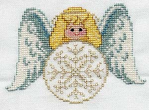FREE Angel - Snow Angel Ornament Pattern