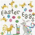 FREE Easter Egg Mini Pattern