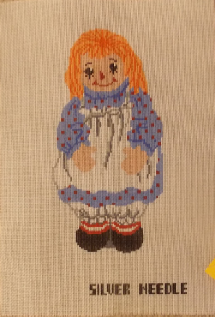 Raggedy Anne Needlepoint - 12ct