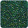 MH00332*Glass Seed Beads - Emerald Rainbow (SKU: MH00332)