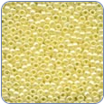 MH02002*Glass Seed Beads -Yellow Creme (SKU: MH02002)