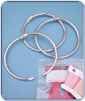 Bulk Loose Leaf Rings - 3 Inch Metal Ring (SKU: Bulk3InRings)