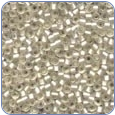 Frosted Glass Seed Beads -Ice