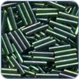 MH82045 - Bugle Beads Medium - Willow Green