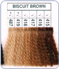 415-419, 487 Biscuit Brown Paternayan