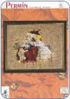 Santa and Child Cross Stitch Kit