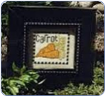 Carrot Cross Stitch Pattern