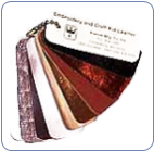 Kreinik Kid Leather Swatch Color Card Set (SKU: KKidLeather)