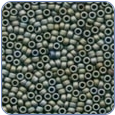 MH03011*Antique Glass Seed Beads - Pebble Gray