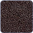 MH42038*Petite Glass Seed Beads - Matte Chocolate
