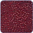 MH62032*Frosted Glass Seed Beads - Cranberry (SKU: MH62032)