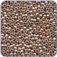 MH03005*Antique Glass Seed Beads - Platinum Rose (SKU: MH03005)