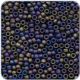 MH03013*Antique Glass Seed Beads -Stormy Blue Heather (SKU: MH03013)