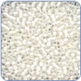 MH03041*Antique Glass Seed Beads - White Opal (SKU: MH03041)