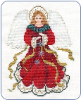 FREE Angel - Angel of the Christmas Season Pattern