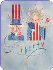 FREE Happy Fourth of July Pattern