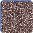 MH40556*Petite Glass Seed Beads - Antique Silver