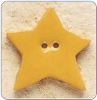 Honey Gold Star Button (SKU: StarButton43169)