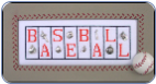 Baseball MiniBlock With 8 Charms (SKU: hzmb11)