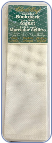Bookmark - Fringed White